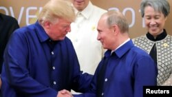 Президенти Трамп і Путін у В'єтнамі