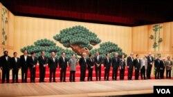 A la cita asisten líderes de las 21 naciones que integran el Foro de Cooperación Económica Asia-Pacífico.