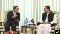 سفر سر منشی ملل متحد به پاکستان