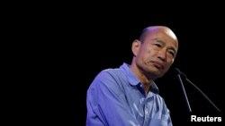 VOA连线(张永泰):台湾高雄市长韩国瑜是否参选下届总统引发关注