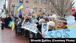 У Вашингтоні пом'янули загиблих у Києві. ФОТО