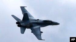 Истребитель-бомбардировщик F/A-18