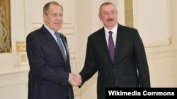 Rusiya xarici işlər naziri Sergey Lavrov Azərbaycan prezidenti İlham Əliyevlə görüşüb