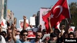 Kadıköy'de gösteriler (15 Eylül, 2013)