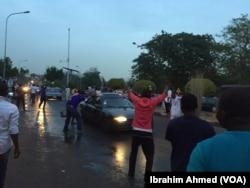 Celebrações da vitória de Muhammadu Buhari, Nigéria, Março 31, 2015