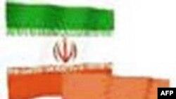iran india flag