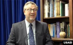 Джим Хоуп, директор місії USAID в Україні і Білорусі