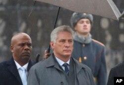 Presiden Kuba Miguel Diaz-Canel menyalahkan sanksi AS