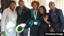 Some of the young leaders from Zimbabwe who participated in the 2013 Community Solutions Programme in USA. (Photo/Phillip Takwana Muyengwa/Facebook Page)