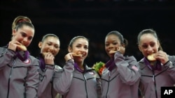 US Gymnastic Team Wins Gold
