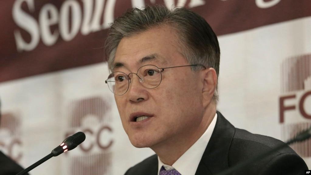 Kết quả hình ảnh cho picture of Moon Jae-in