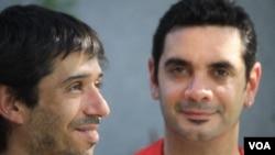 Alex Freyre y José María Di Bello son e primer matrimonio gay en Argentina.
