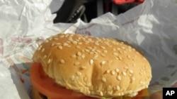 典型德汉堡包