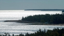 Lake Huron in the U.S. state of Michigan (file photo).