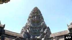 Ðền thờ Angkor Wat ở Campuchia