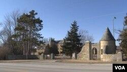 Future site of Dwight, Illinois detention center