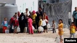 在約旦的敘利亞難民