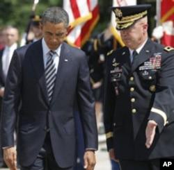 Le président Obama à Arlington