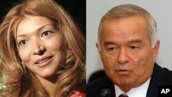 گمان می رود که کریموف و دخترش درگیر جنگ سیاسی اند