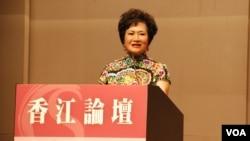 香江文化交流基金會主席江素惠