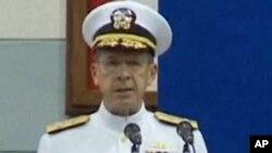 美参谋长联席会议主席海军上将马伦资料照