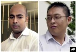 Hai tử tù Andrew Chan và Myuran Sukumaran được cho là đứng đầu một nhóm gồm 9 người Australia bị bắt tại phi trường Bali năm 2005. Họ bị tòa xét tội vận chuyển về Australia hơn 8 kilogram heroin.