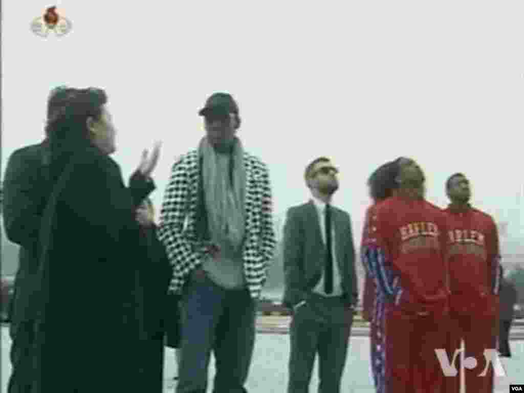 Watch related video of the NBA's Rodman in North Korea