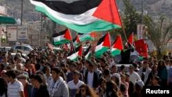 Израильские арабы провели «День Земли». 30 марта 2014г.
