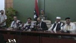 Ливийские повстанцы без командующего