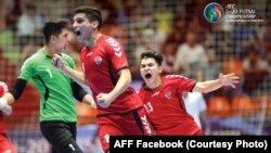 عکس: فیسبوک فدراسیون فوتبال افغانستان