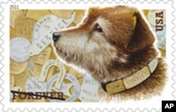 The Owney 'forever' stamp. It may even outlast the Postal Service's favorite dog.