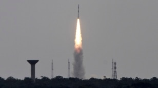 FILE - India's Polar Satellite Launch Vehicle (PSLV-C23), carrying five satellites, lifts off from the Satish Dhawan Space Centre in Sriharikota, north of the southern Indian city of Chennai, June 30, 2014.