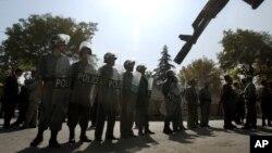Афганские полицейские (архивное фото)