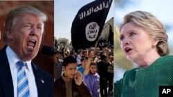 شیوۀ مبارزه با داعش، یکی از مسایل مطرح در مناظره های دو نامزد ریاست جمهوری بود.
