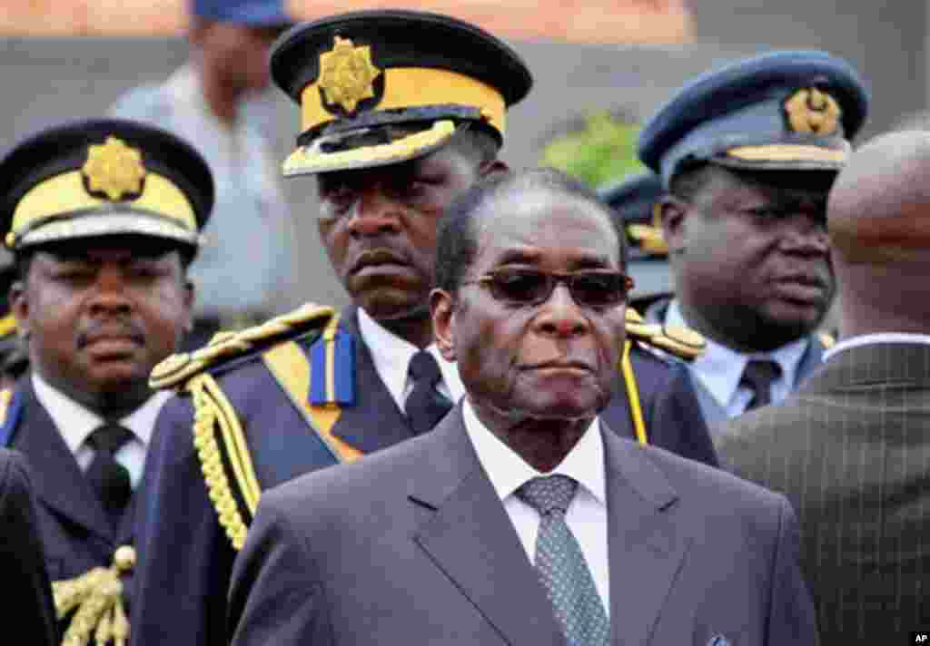 Zimbabwe's President Robert Mugabe. (file photo)