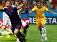 Australia versus Netherlands World Cup