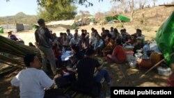 ရခိုင္စစ္ေရွာင္ဒုကၡသည္မ်ား (မွတ္တမ္းဓာတ္ပံု - Rakhine Ethnics Congress)