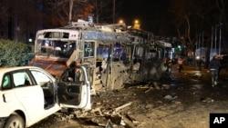 تا کنون هیچ گروهی مسوولیت انفجار شام گذشته در انقره را به دوش نگرفته است.