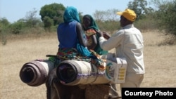 Program pemberantasan polio di Distrik Sanitaire de Mangalam, kawasan de Guerra, Chad. (Foto: dok).