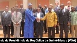 Candidatos presidenciais na Guiné-Bissau e Presidente de Transição