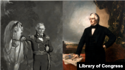 Zachary Taylor and Millard Fillmore