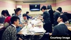 탈북 학생들을 위한 여명학교 동아리 활동 정경. (자료사진)