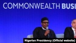 Buhari at Commonwealth Meeting CHOGM