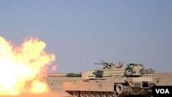 Tank M1 Abram akan membantu pasukan koalisi dalam pertempuran melawan pemberontak di Afghanistan selatan.