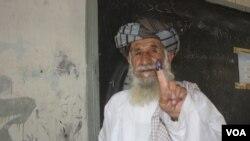 تیرو انتخاباتو کې هم د کندهار ولس په ډیره څرگنده برخه اخیستې وه.