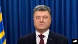 Ukrayna prezidenti Petro Poroşenko