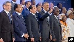Predsednik SAD, Barak Obama sa afričkim liderima, 6. avgust 2014.