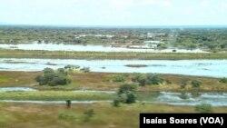 Aldeias inundadas no Luquembo, Malanje