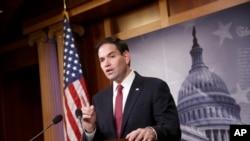 روبیو با یک رقیب جمهوریخواه خود در انتخابات درون حزبی روز سه شنبه فلوریدا روبرو است.
