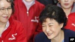 ທ່ານນາງ Park Geun-hye ຈະລົງແຂ່ງຂັນເປັນປະທານາທິບໍດີ